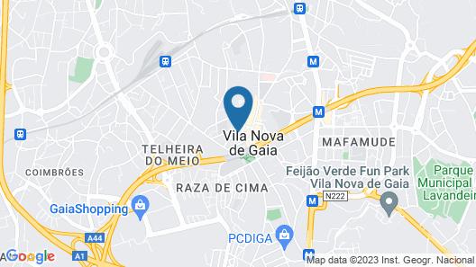 Apartamentos Turisticos Gaia Residence Map