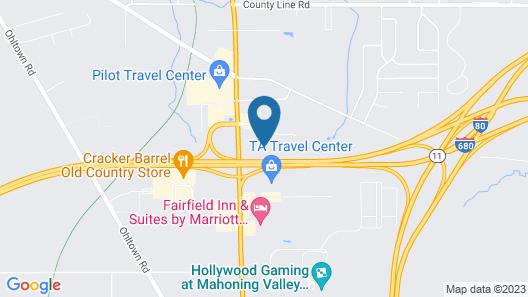 Days Inn by Wyndham Austintown Map