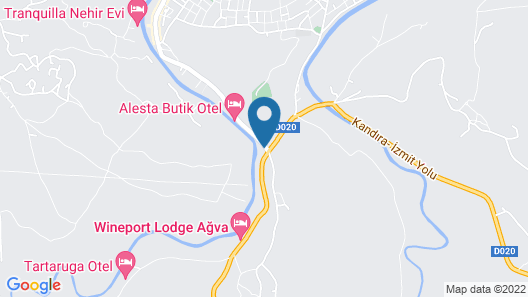Agva Greenline Guesthouse - Adult Only Map