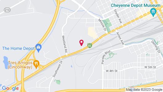 Fairfield Inn & Suites Cheyenne Southwest/Downtown Area Map