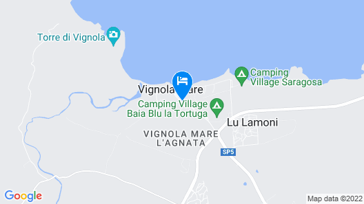 Petri Marini Hotel & Resort Map