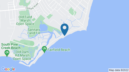 Stunning Direct Waterfront Beach House! Map