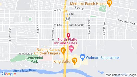 Blue Spruce Motel Map