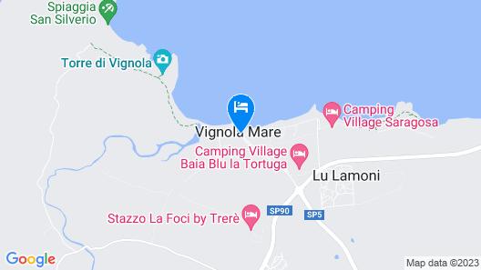 Club Hotel Ragno D'Oro Map
