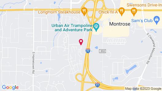 Radisson Hotel Akron/Fairlawn Map