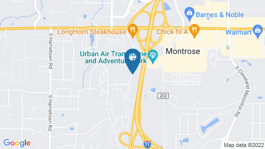 Best Western Plus West Akron Inn & Suites Map