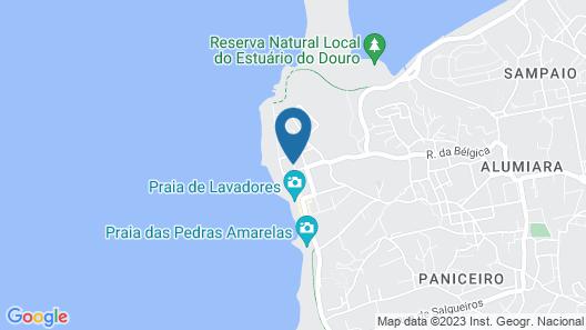 Golden Tulip Porto Gaia Hotel & Spa Map
