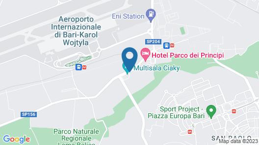 B&B Airport Bari - Palese Map