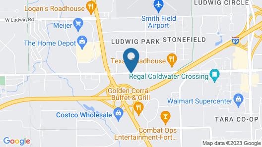 Days Inn by Wyndham Fort Wayne Map