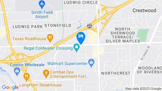 Hyatt Place Fort Wayne Map