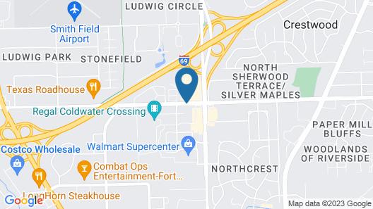 Ramada Plaza & Conf Center by Wyndham Fort Wayne Map