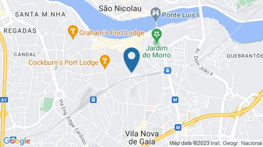 The Yeatman Hotel Map