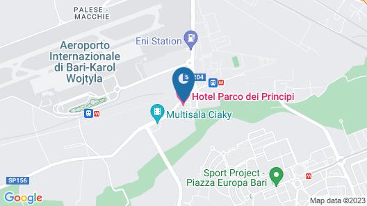 Parco dei Principi Hotel Congress & Spa Map