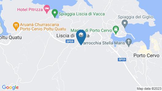 Dolce Vita Boutique Hotel Map