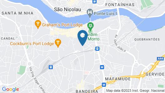 Gaia-Porto Hostel Map
