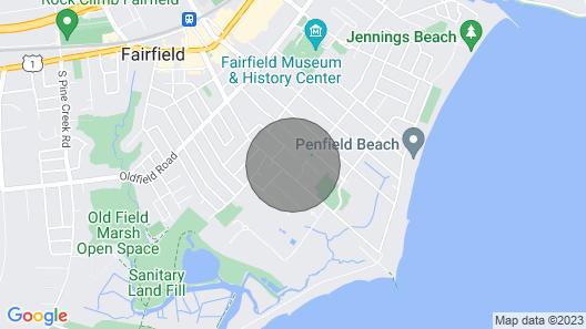 Fairfield Beach House Map