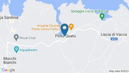 Grand Hotel Poltu Quatu Map