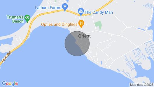 Orient Village Bayfront Summer Cottage Map