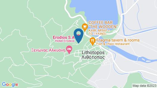 Hotel Erodios Map