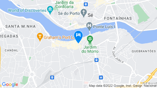 Charm Guest House Douro Map