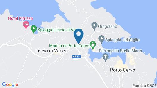 Colonna Park Hotel Map