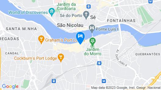 Porto Views & Wines V by Porto City Hosts Map