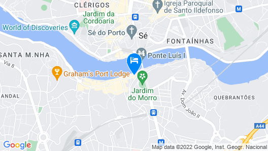 Your Opo Ribeira Apartments Map