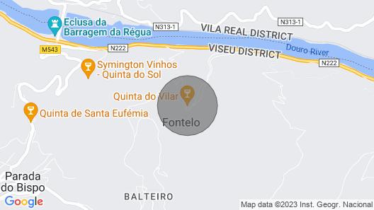 Casa do Feitor in Quinta do Vilar - Douro Valley Map
