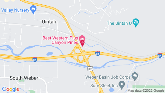 Best Western Plus Canyon Pines Map