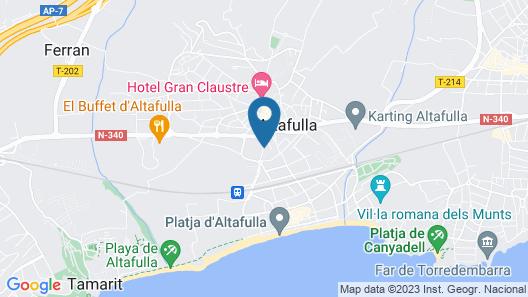 San Martin Map