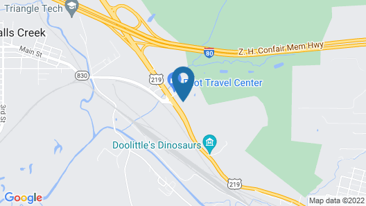 Holiday Inn Express Hotel & Suites DuBois, an IHG Hotel Map
