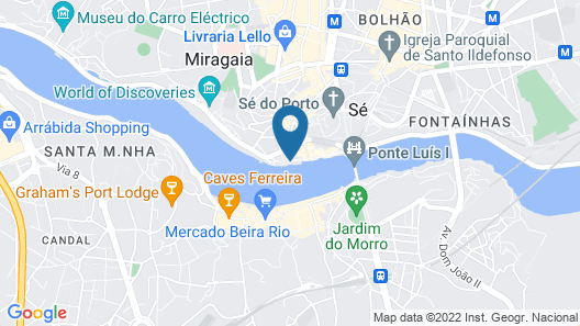 Oporto Home Boutique Apartments - River Front Map