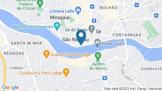 Your Opo Ribeira Apartments Porto Map