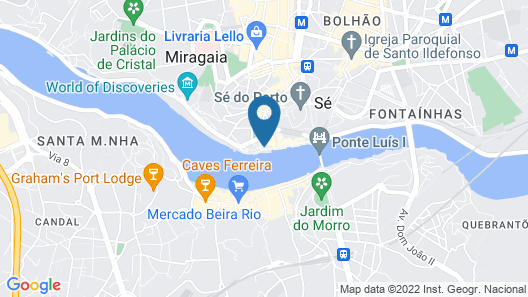 Guest House Douro Map