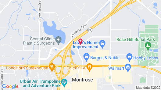 Fairfield Inn & Suites Akron Fairlawn Map