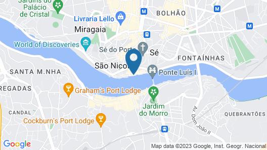 Pestana Vintage Porto - Hotel & World Heritage Site Map