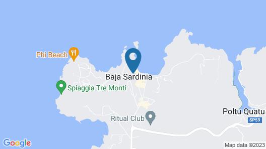 Club Hotel Map