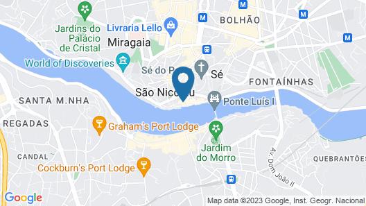 Descobertas Boutique Hotel Map