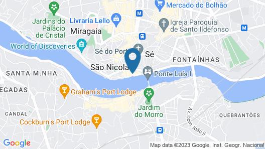 Porto River Map