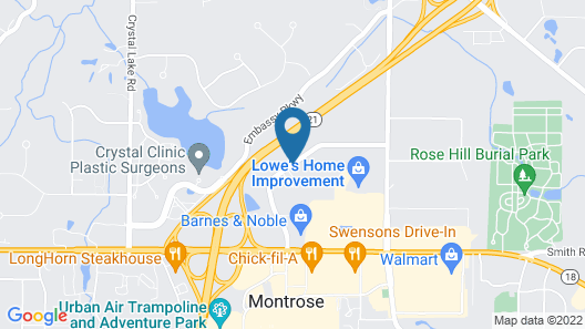 Homewood Suites by Hilton Akron Fairlawn, OH Map