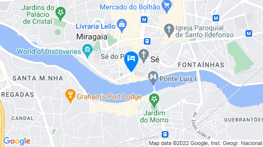 My Ribeira Guest House Map
