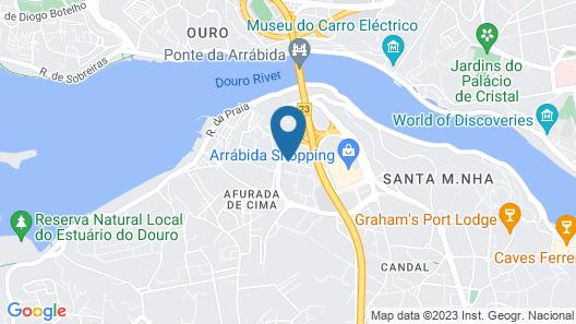 Novotel Porto Gaia Map