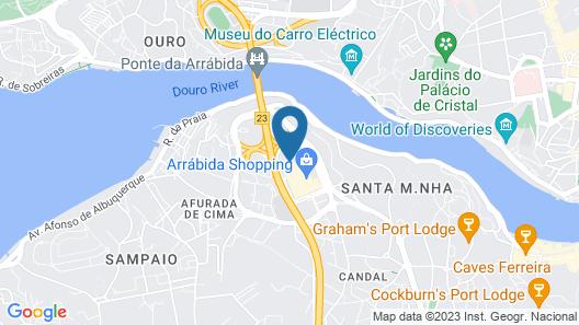 OPO Arrábida Studio Map
