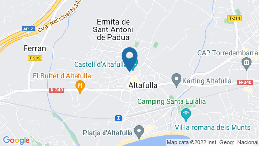 Hotel Gran Claustre Restaurant & Spa Map