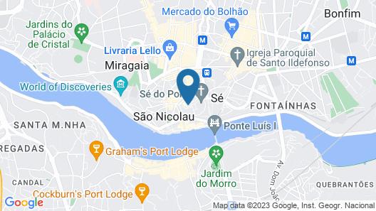 BO Rua das Aldas - Riverview Apartments Map