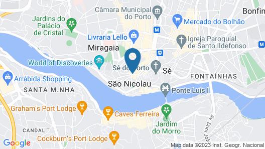 São Domingos Flowers Apartments Map
