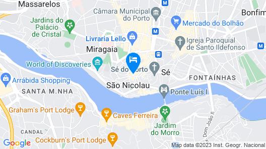 Porto A.S. 1829 Map