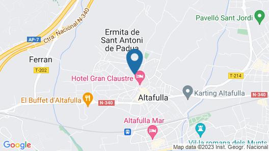 Casa del Castell Map
