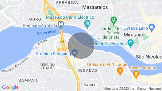 Douro Amazing River View Map