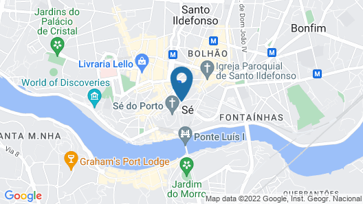 Hostel One Ribeira - Adults Only Map